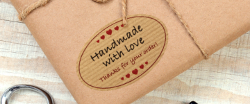Kraft Paper Labels | www.stickersinternational.ie
